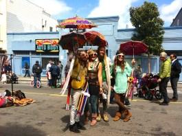 Hippies en San Francisco