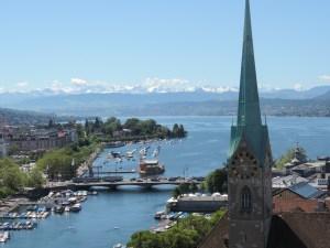 Vistas de Zurich. Mis blogs favoritos sobre Suiza