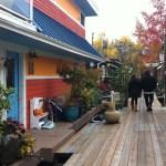 Foto de las casas flotantes en Lake Union, Seattle