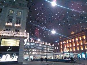 Paradeplatz en Navidad, que ver y hacer en Zurich