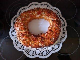 Roscón de Reyes terminado