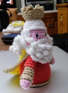 Roscón de Reyes para recibir al Rey Melchor