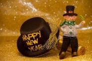 Feliz año nuevo y mucha suerte para el 2018