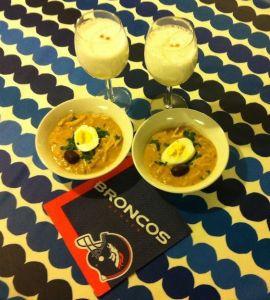 La Super Bowl de 2014 la vimos comiendo comida peruana en Boston