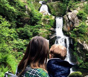 Cascadas de Triberg, una parada obligatoria de la ruta por la Selva Negra