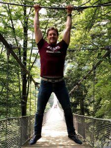 Steinwasen Park, puente colgante
