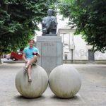 Padrón, estatua de Cela