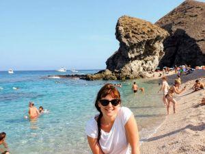 playas de almeria, En la playa de los Muertos