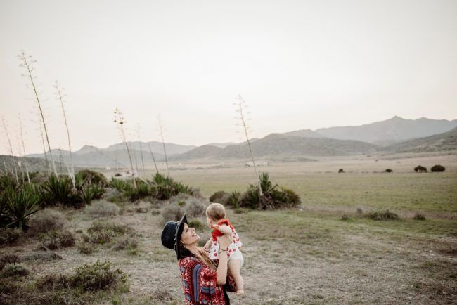 Con mi niña una tarde de septiembre