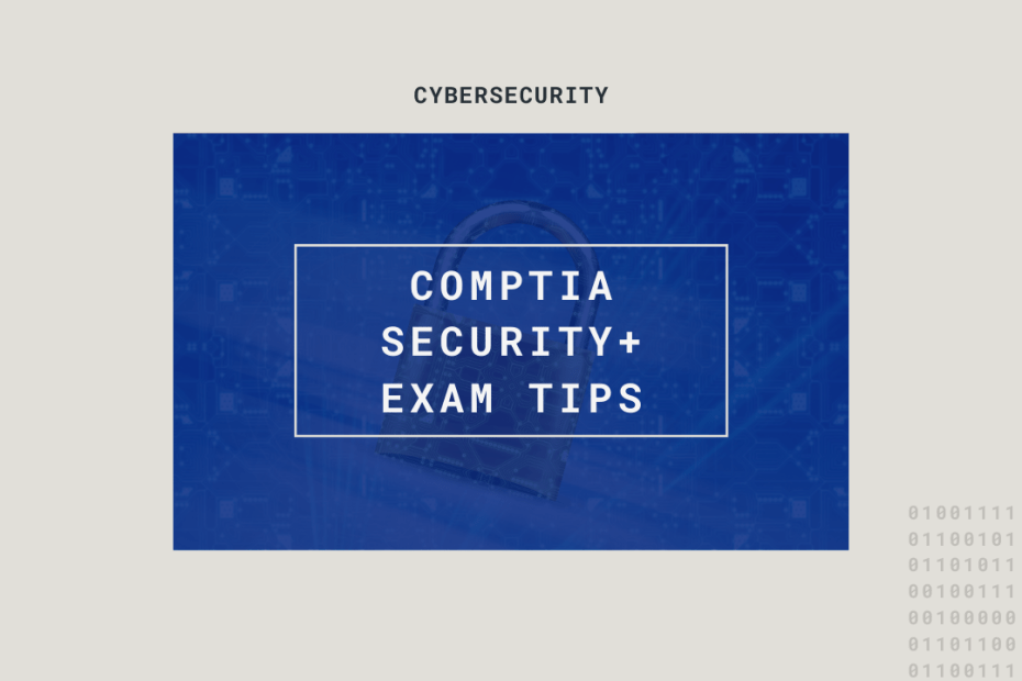 cComptia security plus exam tips