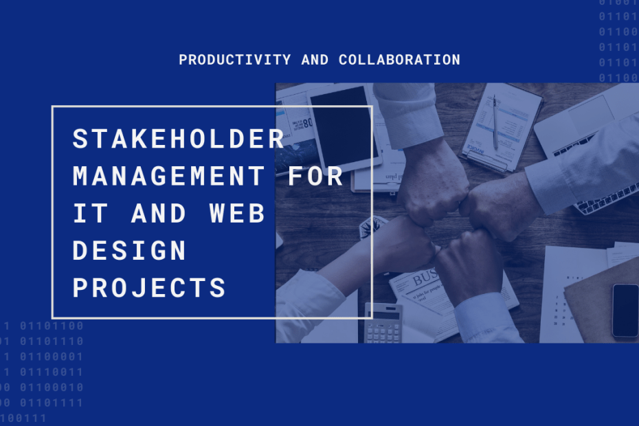 IT web stakeholder management