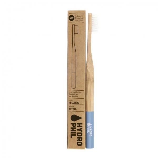 Helesinine hambahari bambusest hydrophil