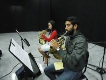 Grabando música sinfónica - skynotestudio.com