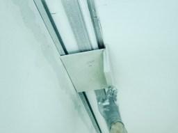 Монтаж гипсокартонной конструкции на алюминиевый профиль.