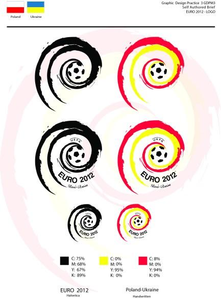 UEFA 2012 Ukraine and Poland – Logo Design