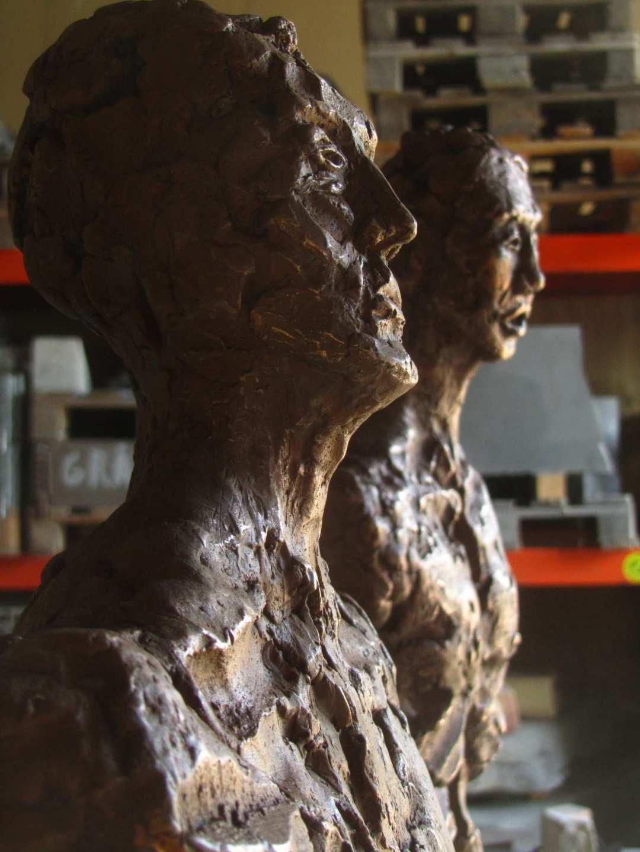 Menneske  lighed  /  Two Human Beings   detaille
