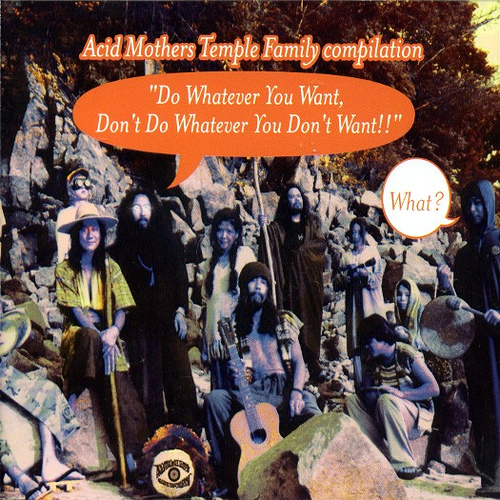 Acid Mothers Temple Family compilation – Do Whatever You Want, Don't Do Whatever You Don't Want!! (2002)