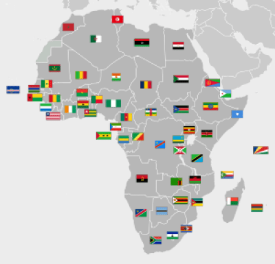 most influential African countries