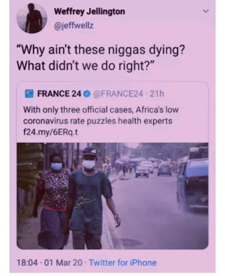 Reasons Africans aren't dying