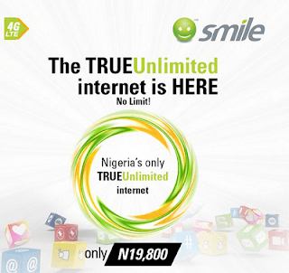 SmileNG free unlimited internet