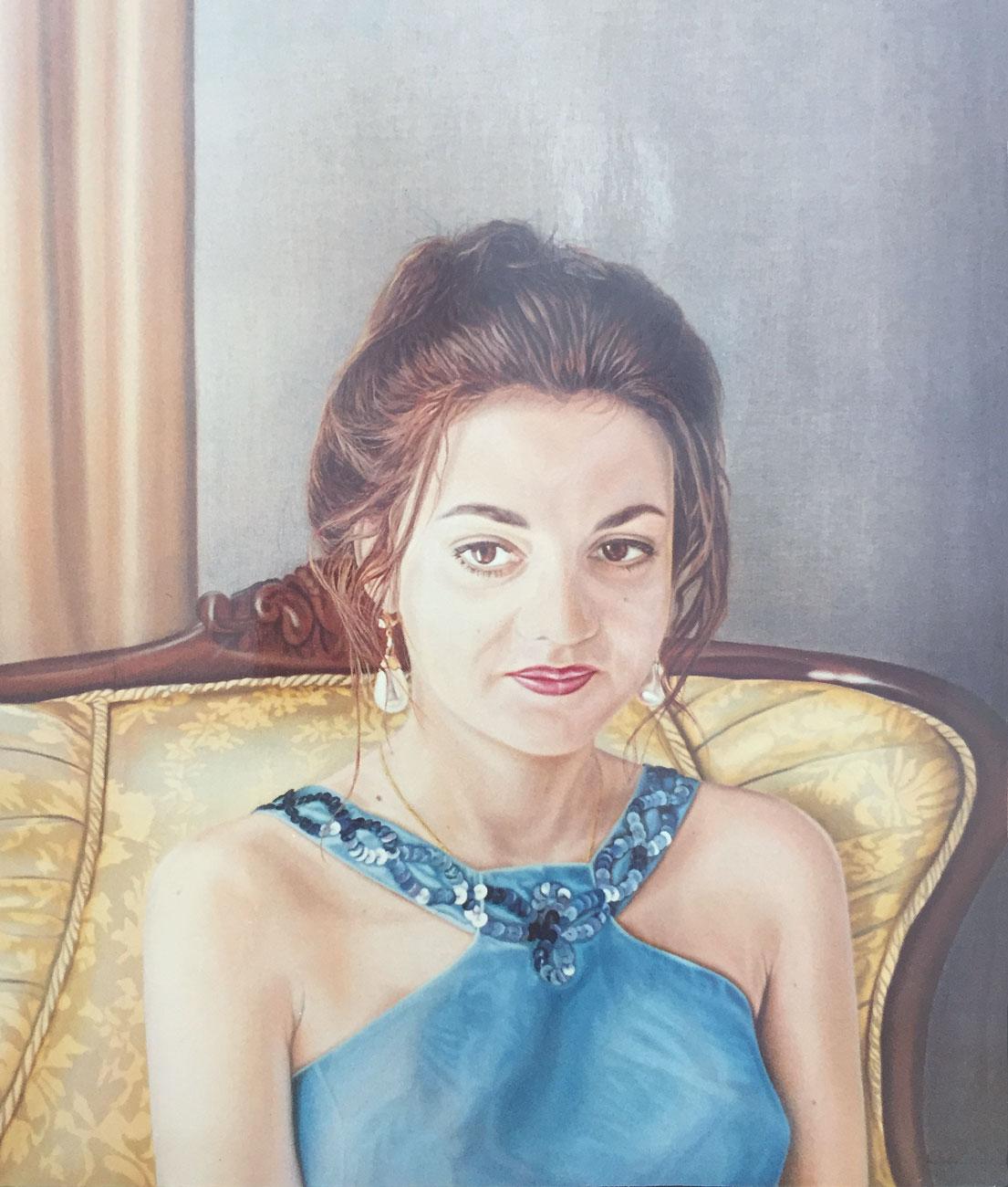 Olga Calado portrait of Estela
