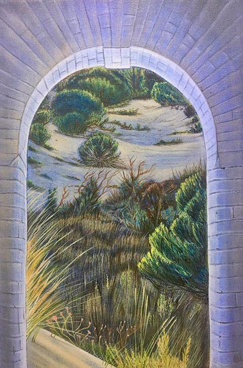 Art  seen by an arch