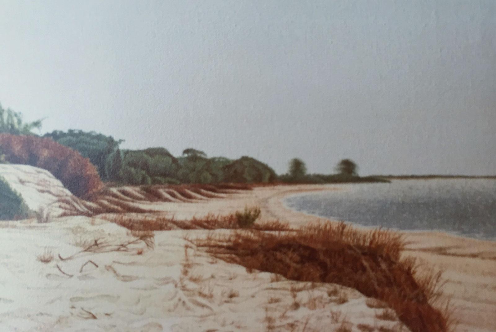 Sand Dunes Beach in La Jara, Sanlúcar de Barrameda