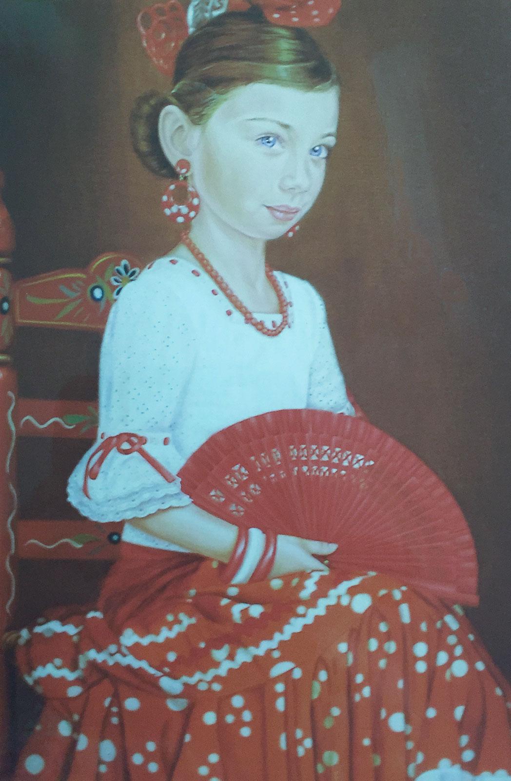 Olga Calado portrait of Zamara