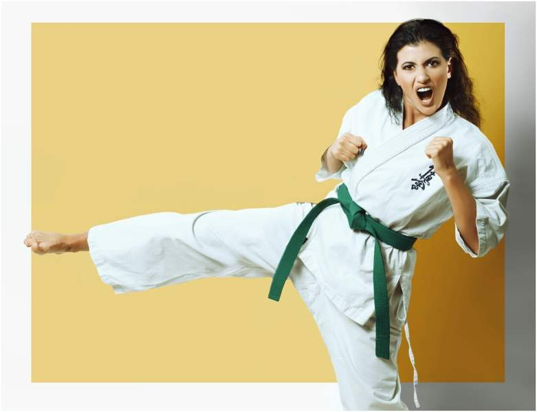 sport, karate, fight