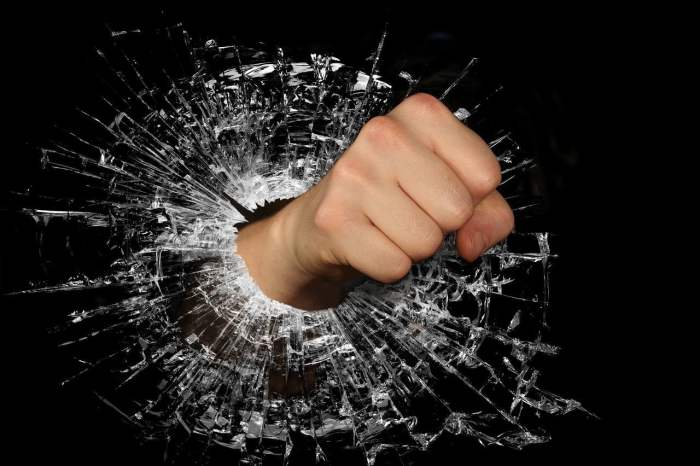 fist, strength, anger