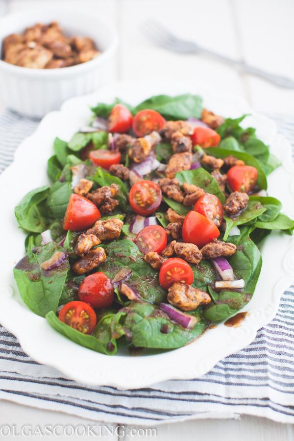 Tomato Spinach Salad-1