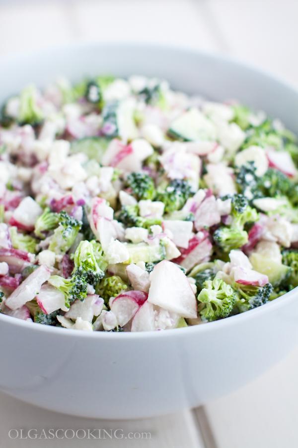 broccoli and radish salad-2