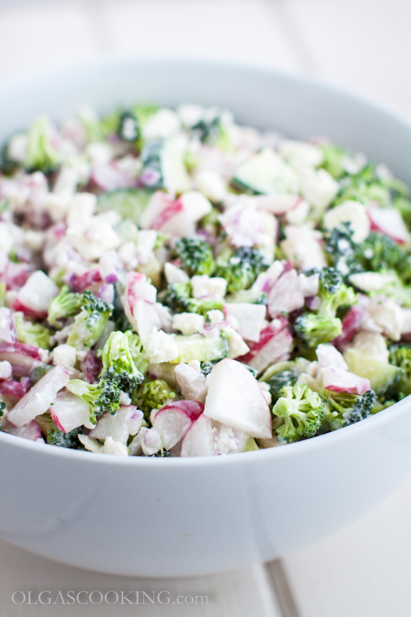 broccoli and radish salad-2