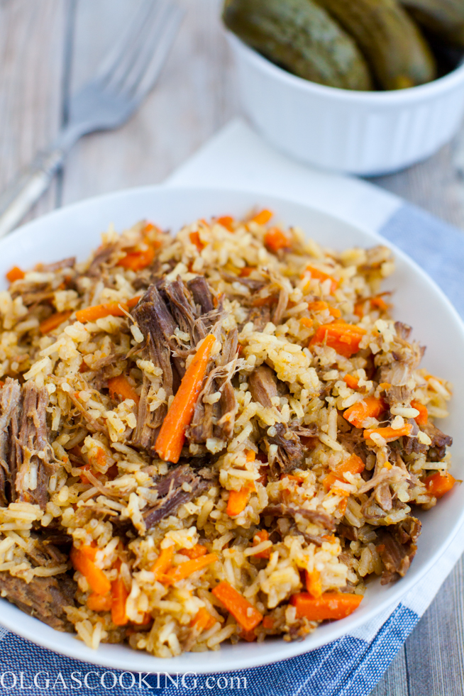 Shredded Beef with Rice