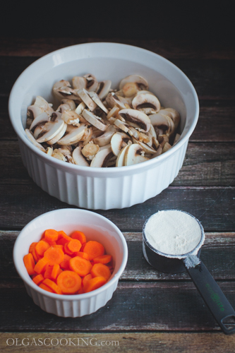 creamy wild rice and mushroom soup-12