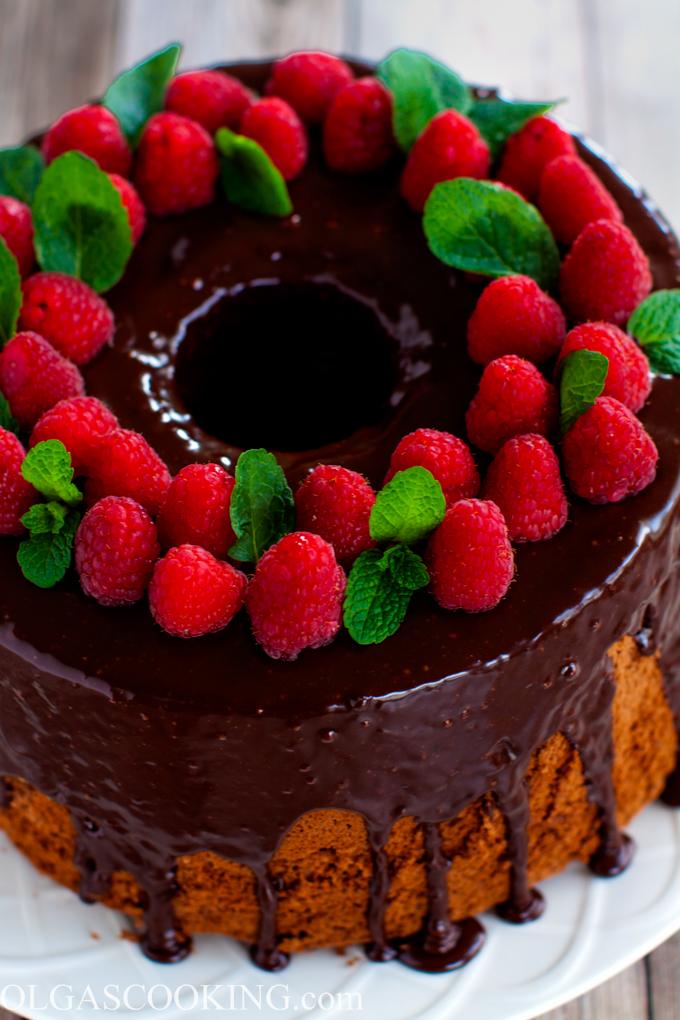 Chocolate Mocha Chiffon Cake