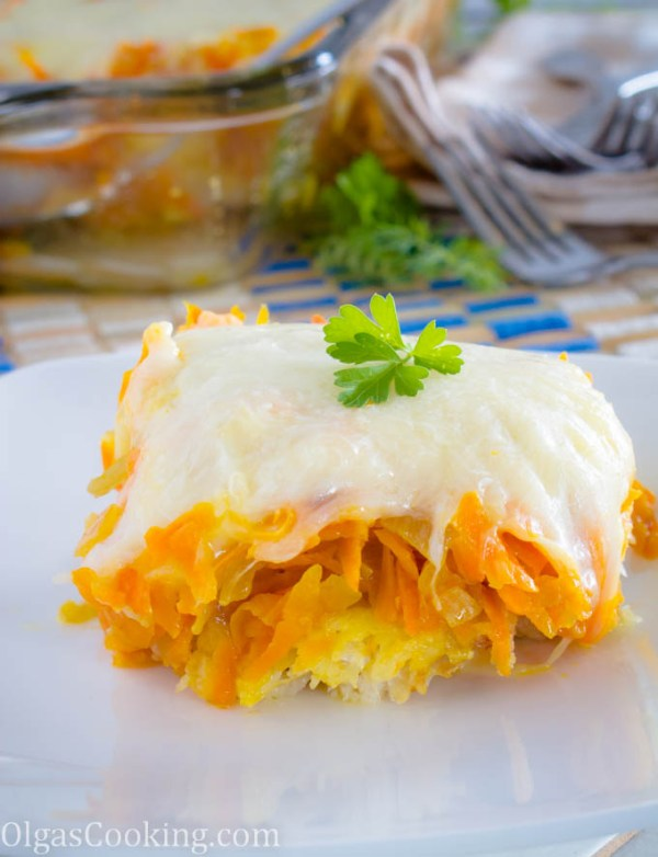 simple, yet flavorful whiting fillets with carrots, onion, topped with cheesy mozzarella