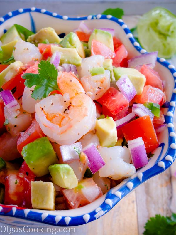 Shrimp and Avocado Salad 5