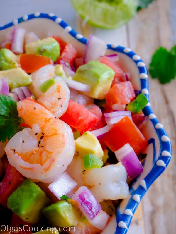 Shrimp and Avocado Salad 6