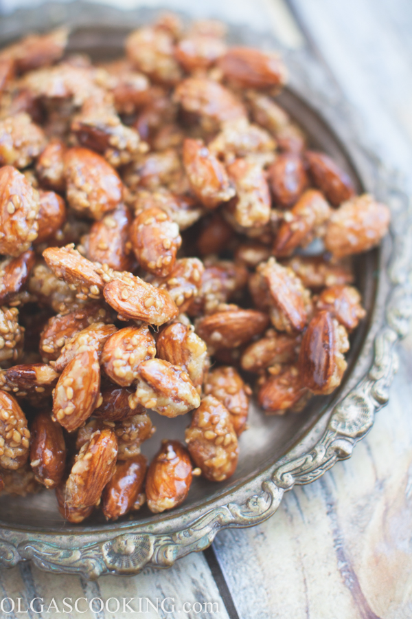 Candied Almond Clusters