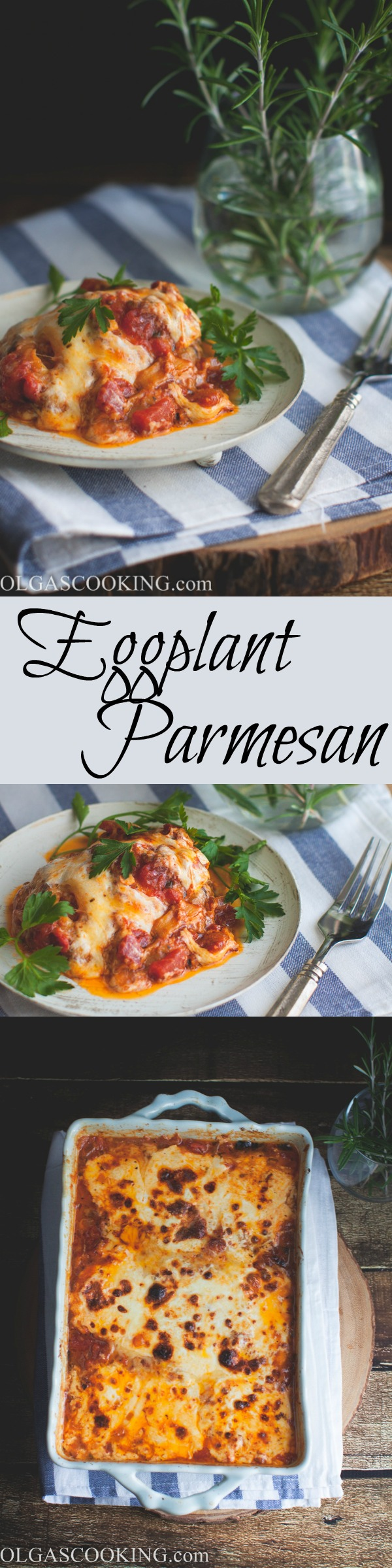 Best ever Eggplant Parmesan recipe!