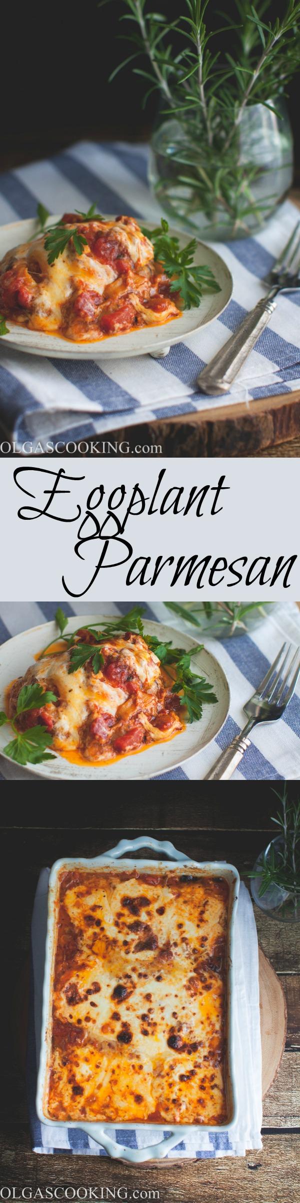Best ever Eggplant Parmesan recipe!