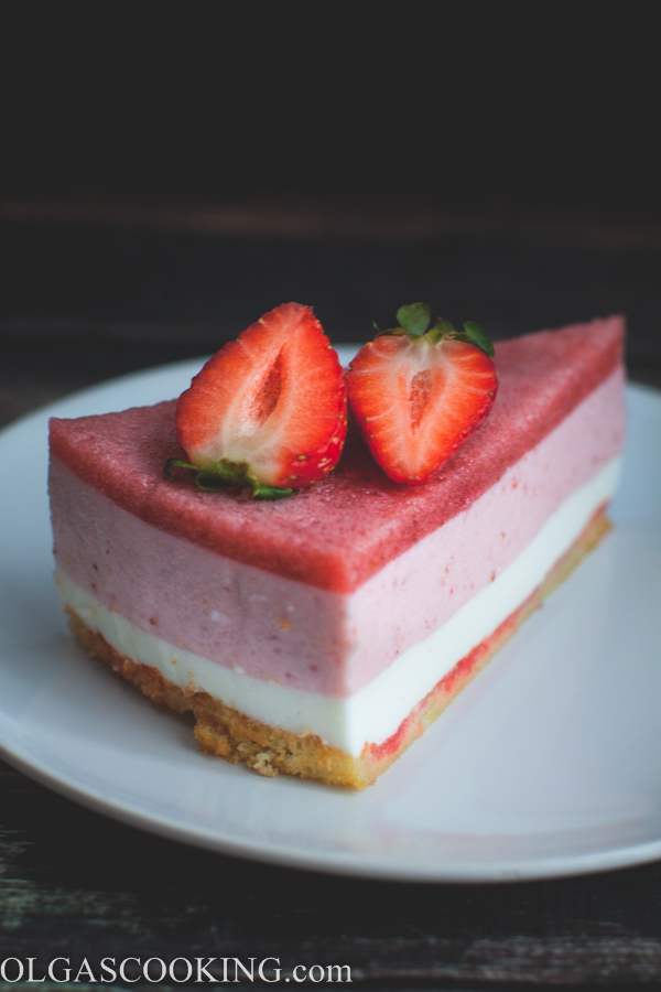 Strawberry Yogurt Cake-1-28
