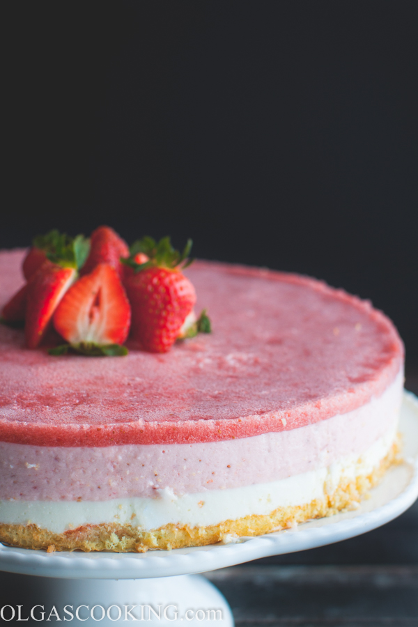 Strawberry Yogurt Cake-1-30