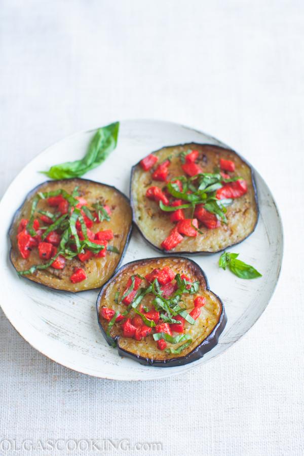 eggplant in balsamic dressing-1-4