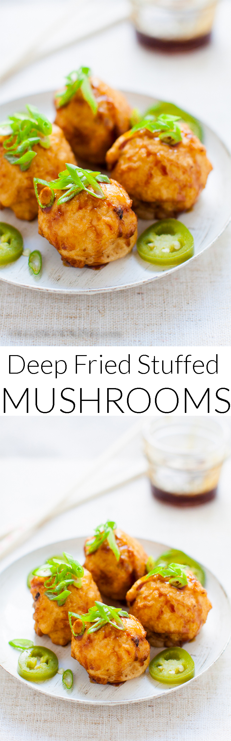Deep Fried Stuffed Mushrooms Recipe..