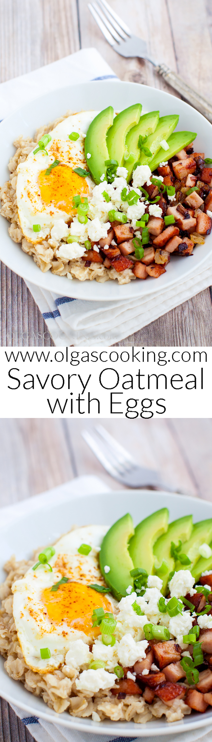 Savory Oatmeal with Eggs Recipe