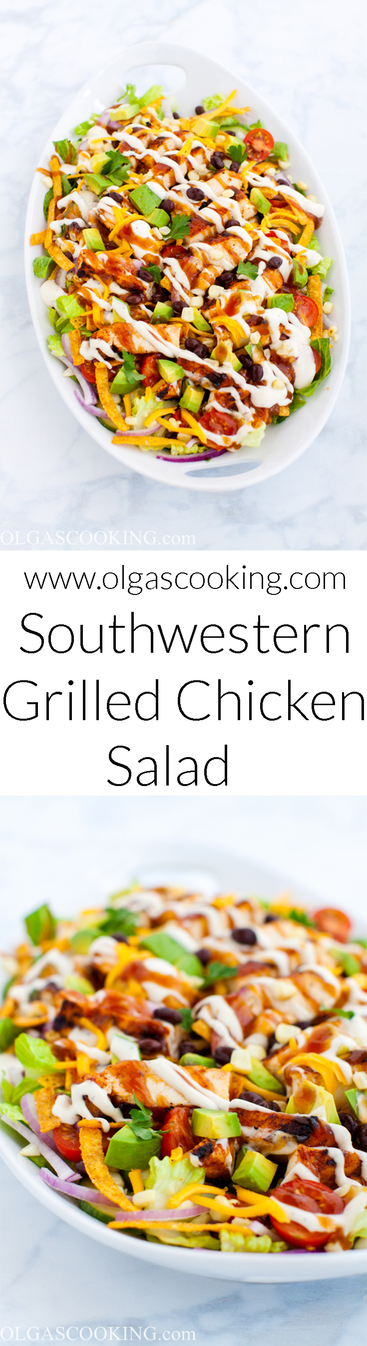Southwestern Grilled Chicken Salad Recipe
