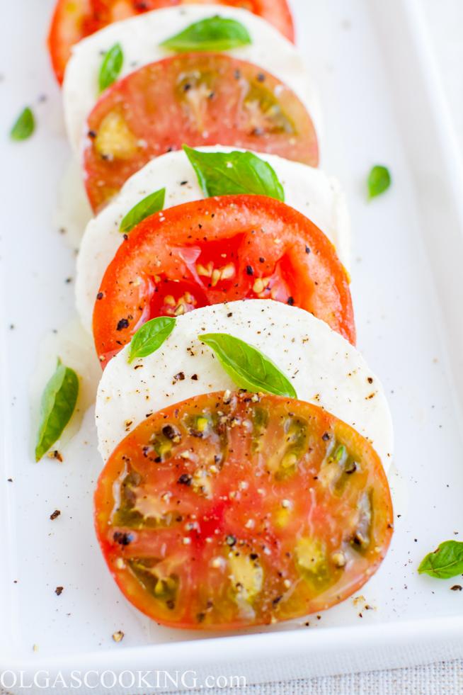 Mozzarella, Tomato and Basil Salad