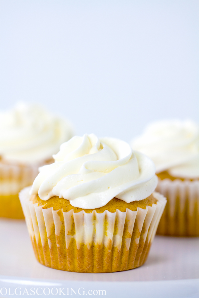 Pumpkin Cream Cheese Cupcakes